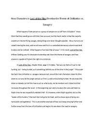 Literary Analysis Example Essay