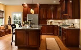 Kitchen Design Ideas With Cherry Cabinets Hawk Haven Delectable Kitchen Design Cherry Cabinets
