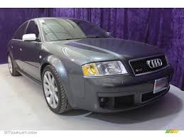 2003 Daytona Grey Pearl Effect Audi RS6 4.2T quattro #25581020 ...