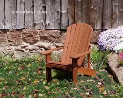 chair kits. wood new england classic adirondack chair in mahogany kits
