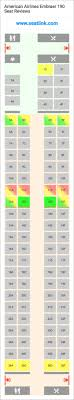 Embraer E90 Seating Chart American Airlines Embraer 190 Seating Chart Updated