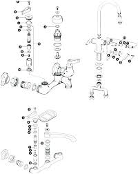 kohler kitchen faucet parts. Kohler Kitchen Faucet Parts Diagram Fairfax S