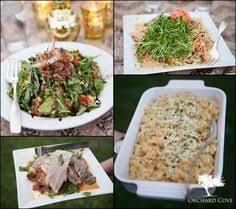 wedding food table fruit and a doughnut cake blog Wedding Hunters Food Network barnard inn wedding food Hunter Foods Anaheim CA