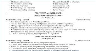Cna Resume Examples Interesting Comfortable Cna Resume Examples Igniteresumescom Usefulresults