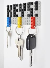 cool-diy-lego-key-hanger-1. hammer hook