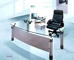 contemporary glass office desk. Modern Glass Office Desk Contemporary Of Unique .
