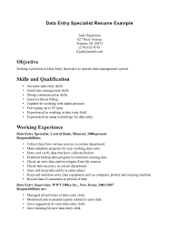 Sample Resume Cover Letter Sample Resume Of Data Entry Clerk It Resume Cover Letter Sample 66
