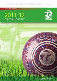 Taylor Vector Bowls Bias Chart Taylor Bowls Australia Catalogue 2012 By Mtcmedia Issuu