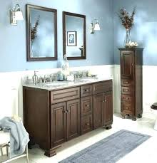 blue brown bathroom rugs and themes vanity decor home improvement inspiring beige maroon color scheme mom