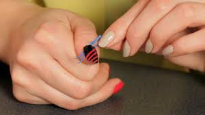 Quatrefoil Only Dotting Tool Required Easy Gelish Nail Art ...