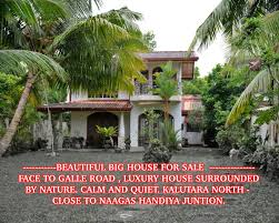 Small Picture HOUSE FOR SALE IN Kalutara Sri Lanka BEAUTIFUL BIG HOUSE