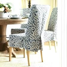 dining chair covers with arms. Dining Chairs Chair Slipcovers With Arms Slip Covered Room For On Budget Re Covers