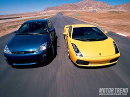 Ford Racing Focus RS8 vs. Lamborghini Gallardo - Mismatched ...