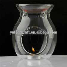 Clear Glass And Aroma Lamp Wholesale Tart Warmers - Buy Oil Burner ...