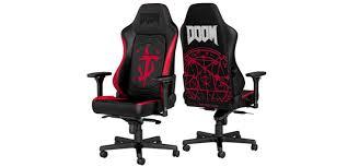 <b>Noblechairs</b> выпускает геймерское <b>кресло</b> Hero DOOM Edition ...