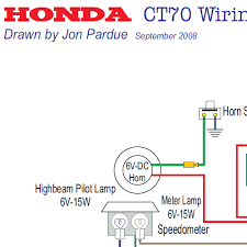 honda ct70 wiring diagram the wiring honda ct70 carburetor parts diagram image about