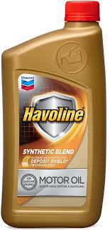 Havoline Synthetic Blend Motor Oil   Havoline Motor Oils