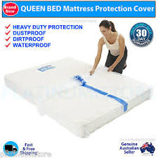 plastic mattress protector. Image Is Loading 4-x-Queen-Bed-Plastic-Mattress-Protector-Moving- Plastic Mattress Protector
