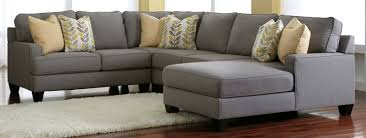 Astounding Gray Sectional Sofa Ashley Furniture 69 For Your Red