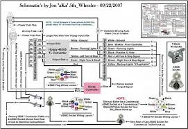 kenworth wiring harness adapters tail light converters heavy haulers rv resource guide this schematic shows how to wire your electrical kenworth t2000 electrical wiring diagram