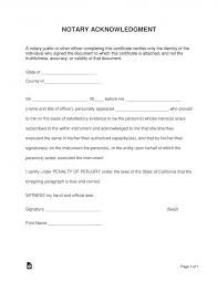 virginia notary acknowledgement form