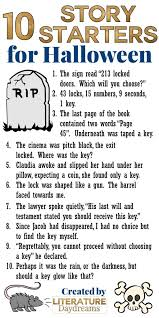 stories starters for halloween literature daydreams me too i surely hope you can use them in your classroom as part of your daily writing or perhaps as part of your creative writing unit or as a halloween