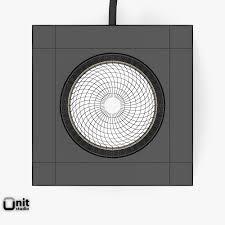 ... q floor lamp by davide groppi 3d model max obj 3ds fbx dwg 9