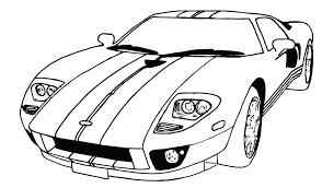 Free Coloring Page O Cars Pages Printable Cartoon Characters