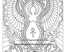 Small Picture Pagan Art Goddess Art Coloring Page Mothers Day Divine
