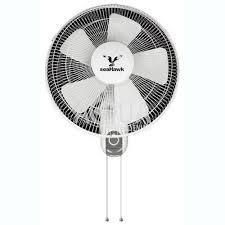 oscillating wall fan. Seahawk 3 Speed Oscillating Wall Fan H