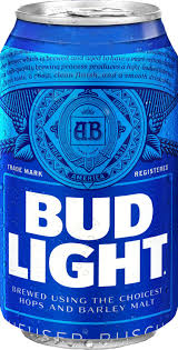 Bud Light Budweiser Bud Light 12 Pack 355ml Can