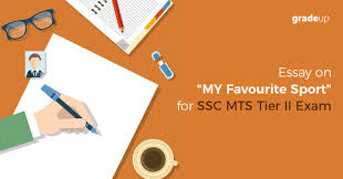 essay on my favourite sport for ssc mts tier ii exam