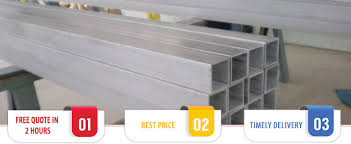 Ss Rectangular Stainless Steel Square Hollow Section