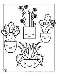 They are easy to do and you don't need a phd to complete them. Kawaii Printable Coloring Pages Woo Jr Kids Activities