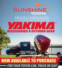 Yakima Parts For Toyota Vehicles | Sunshine Toyota in Battle Creek, MI