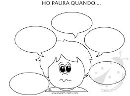 Le Emozioni Dei Bambini Schede Didattiche Cw49 Regardsdefemmes