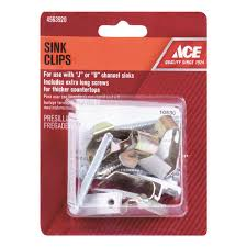 Ace Stainless Steel Sink Clip Kit Ace Hardware