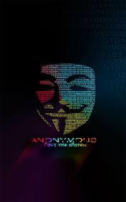 Anonymous android wallpaper en 2020 épinglé sur fond ecran. Epingle Sur Anonymous