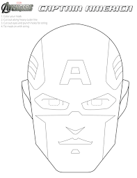 Small Picture Free Avengers Printable Halloween Masks to color Avengers