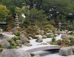Japanese Style Garden Bridges Tenshin En Japanese Garden