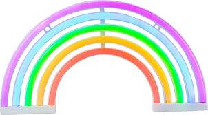 Regenboog Nachtlamp Genderfree Kinder Nachtlampje Decorlamp