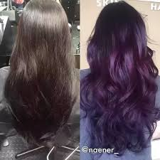 Shades Of Purple Hair Dye Chart Should I Dye My Hair Purple Quora