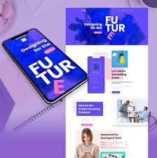 Tech Startup Web Design Startup Website Design For Creatives Motocms