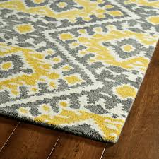 grey yellow rug for awesome living room floor idea