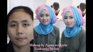 tutorial makeup pesta untuk mata sipit tutorial hijab pesta