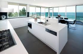 Beautiful White Kitchen Designs Modern White Kitchens Luxury Galley Kitchen Design Ideas White