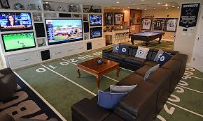 The Best Ways to Keep a Basement or Garage Man Cave Comfortable