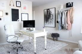 chic office space. Blogger Home Office Chic Space