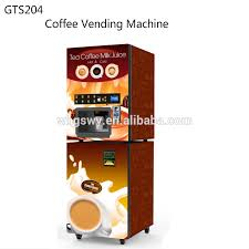 Vending Machines Suppliers Hong Kong New Tea Water Dispenser Instant Powder Nescafe Vending Coffee Machine