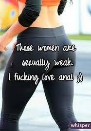 I love fucking women